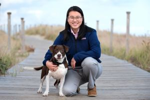High School Senior portrait at the beach by heidi harting photography in plymouth ma