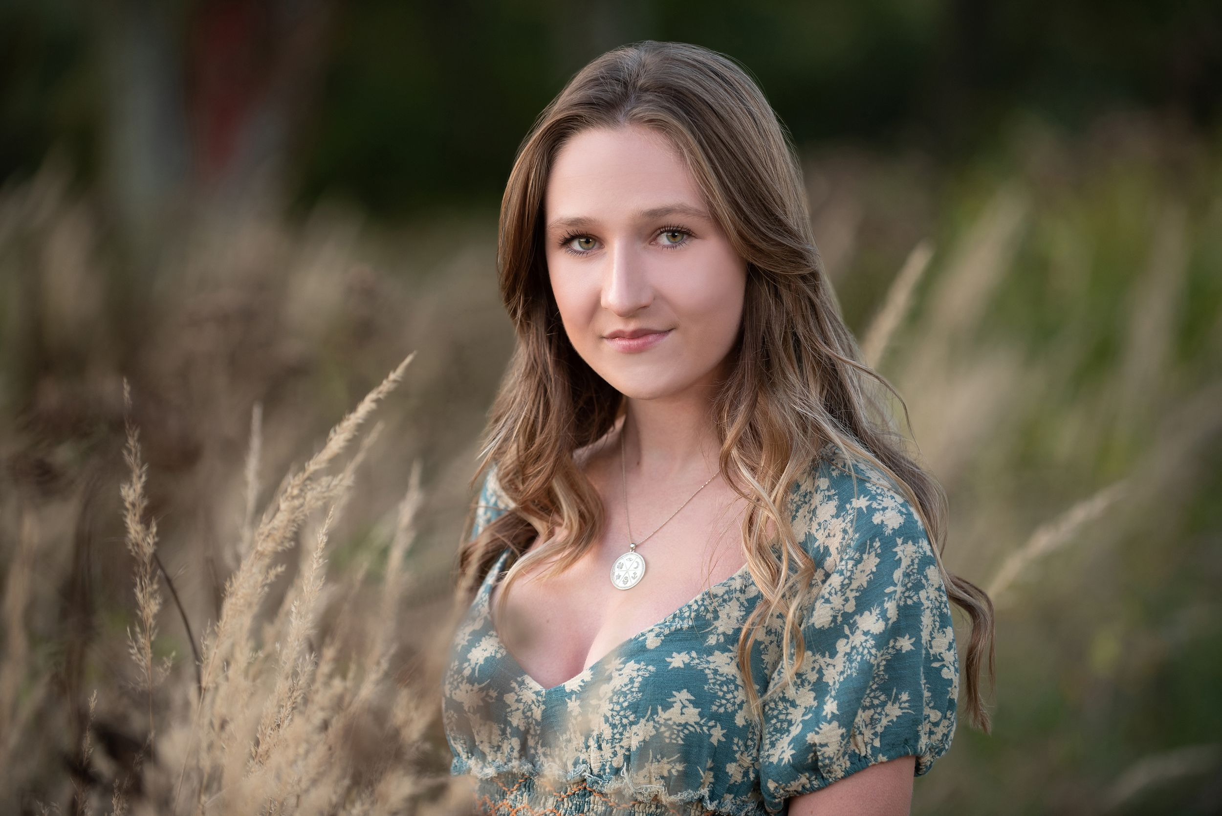 Plymouth North senior portrait by heidi harting photography in Chiltonville, MA