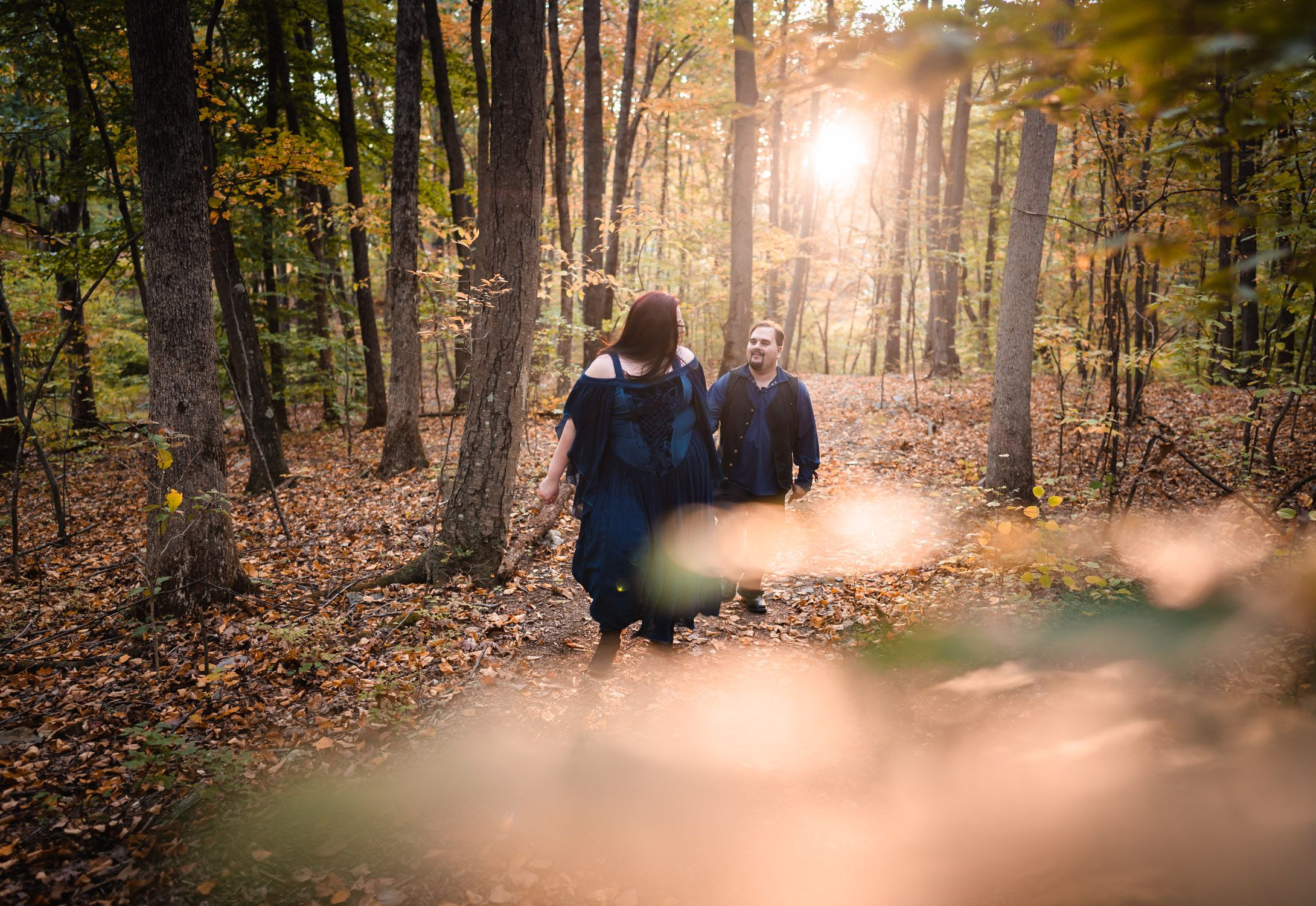 Preston Christman Photography Poconos Engagement Session at Columcille Megalith Park Lehigh Valley Wedding Photographer