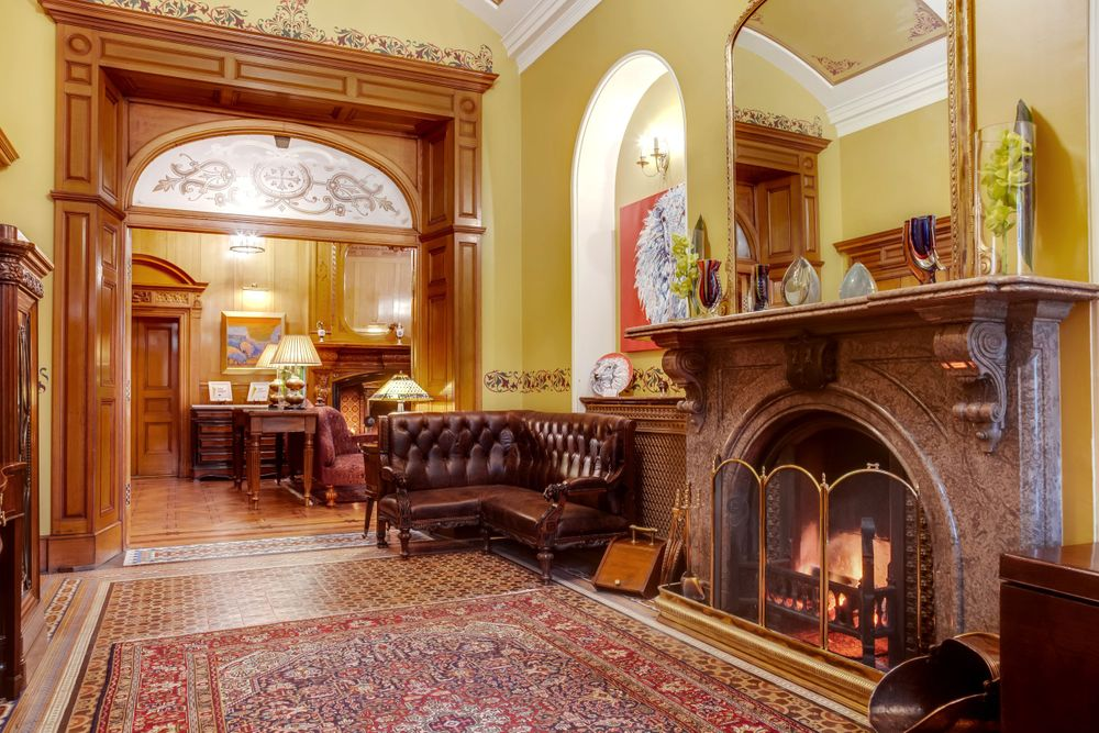 Pale Hall Hotel Reception Snowdonia Wales