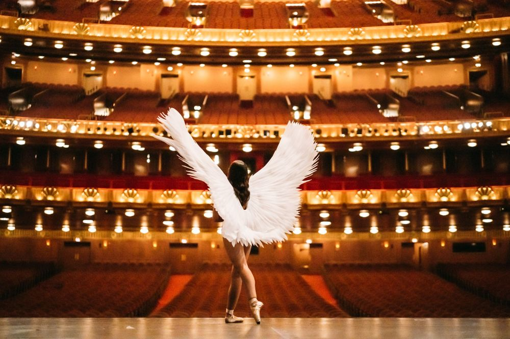 ballet photography at chicago civic opera house