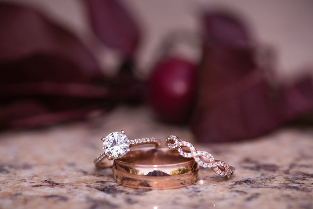Precious gems Photography Rose gold Macro Photography