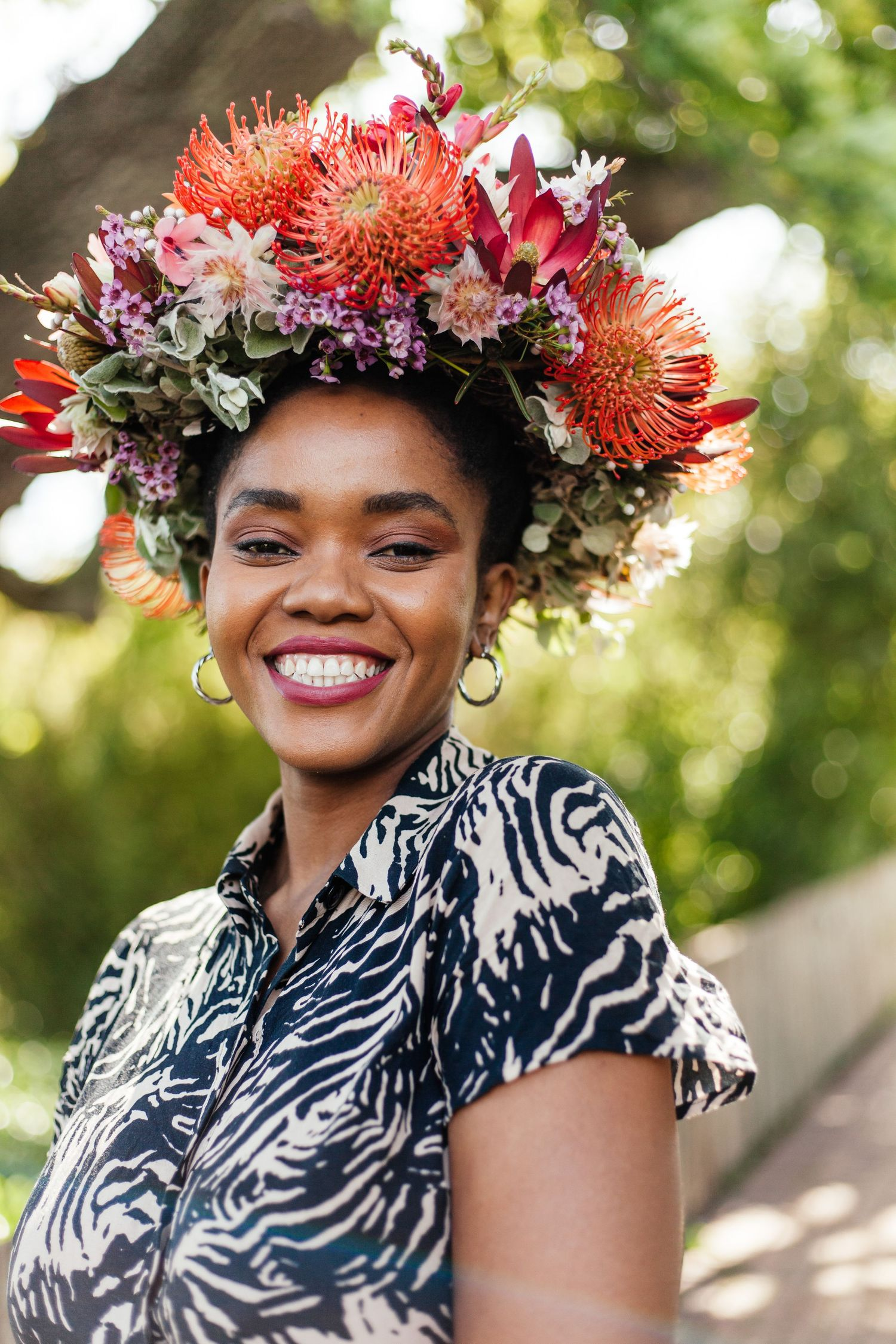 Abongwe Garden Day portrait by Cape Town photographer Estee de Villiers