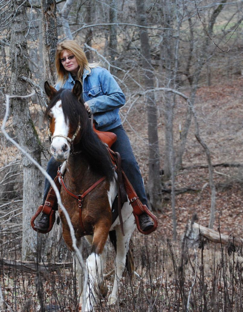 Animal photographer stefanie schermerhorn trail riding