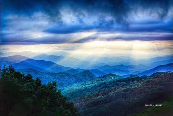 CarolinaPhotoArt.com- Up to 50% Off Gallery Prints - Great Smoky Mountains / Blue Ridge Parkway -Warmth Rays Of Your Luv