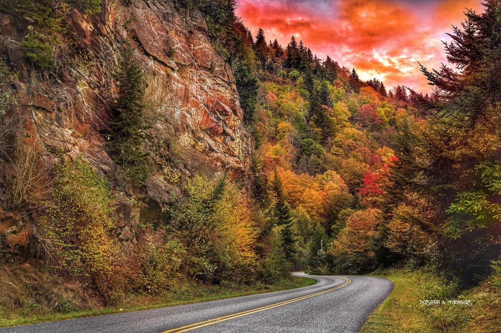 CarolinaPhotoArt.com- Up to 50% Off Gallery Prints - Great Smoky Mountains / Blue Ridge Parkway - The Road Less Followed