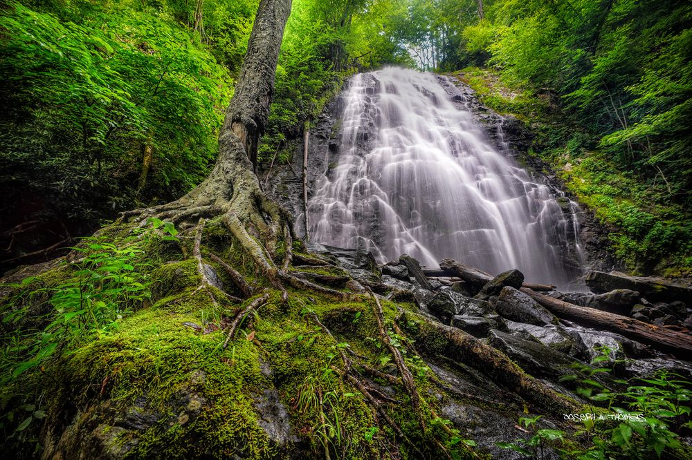 CarolinaPhotoArt.com- Up to 50% Off Gallery Prints - Great Smoky Mountains / Blue Ridge Parkway - Crabtree Falls