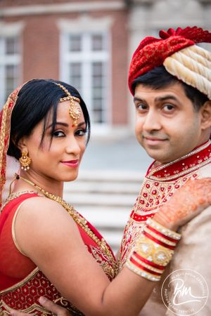 Mutton town club wedding was a colorful combination of cultures