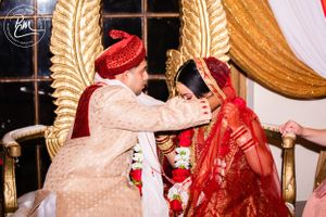 Image of Hindu Wedding Ceremony in Long Island by Placid Media Wedding Photographer