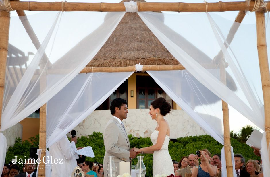 wedding ceremony at the Fairmont Mayakoba