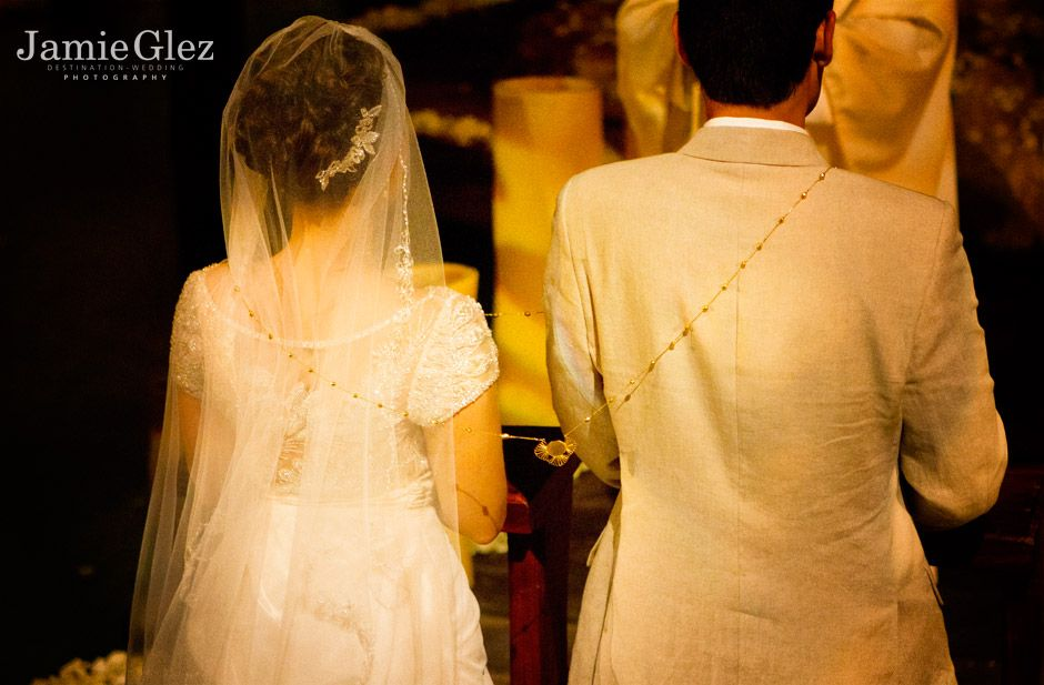 Xcaret chapel wedding photos 8