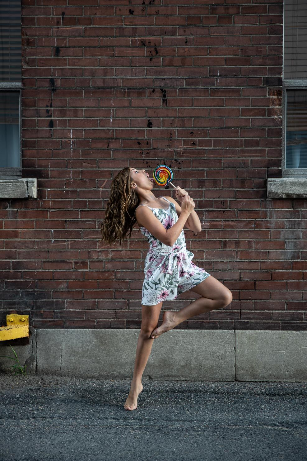 Candy Dancer, Dancer, Dance Pose, Dance by aKaiserPhoto, Dance Photographer, #dancersanddesserts