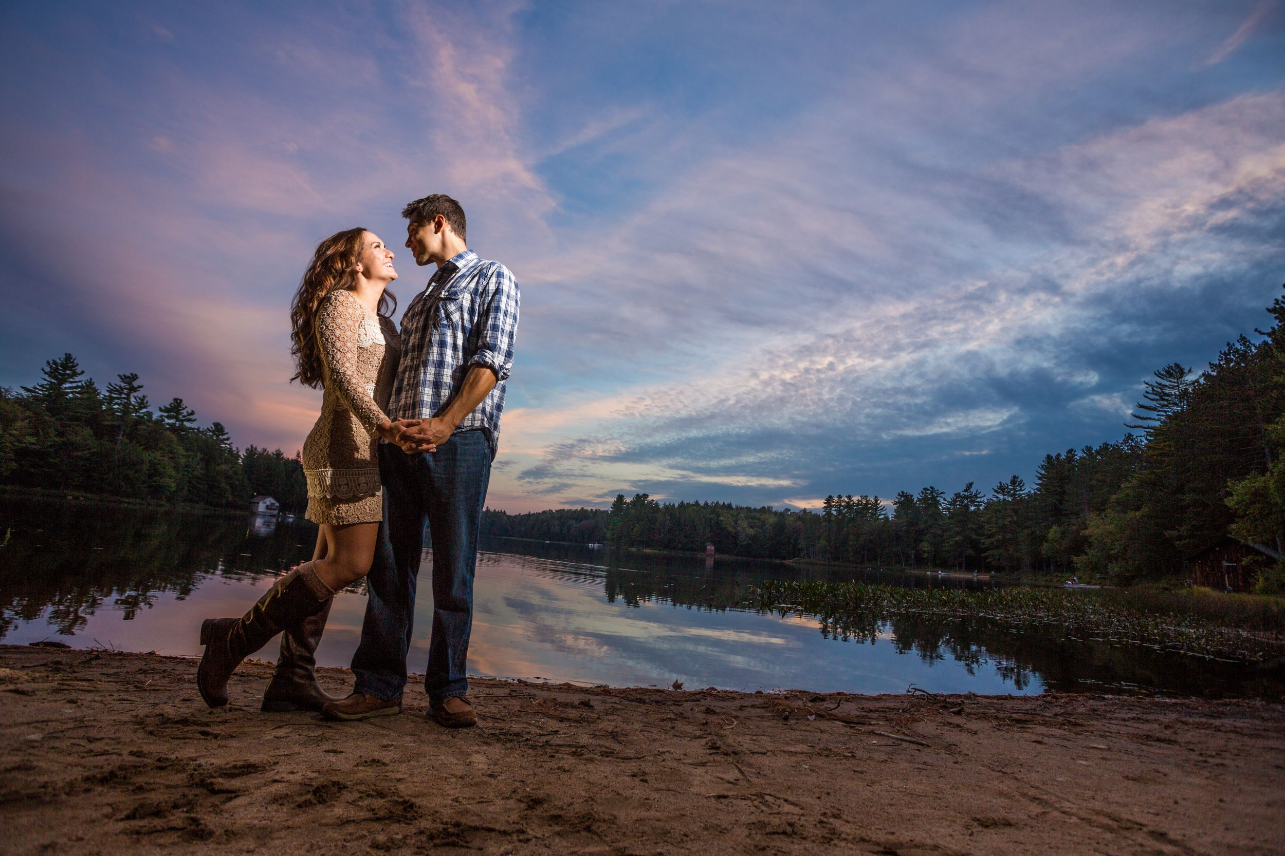 Engagement Photography in the Adirondacks New York