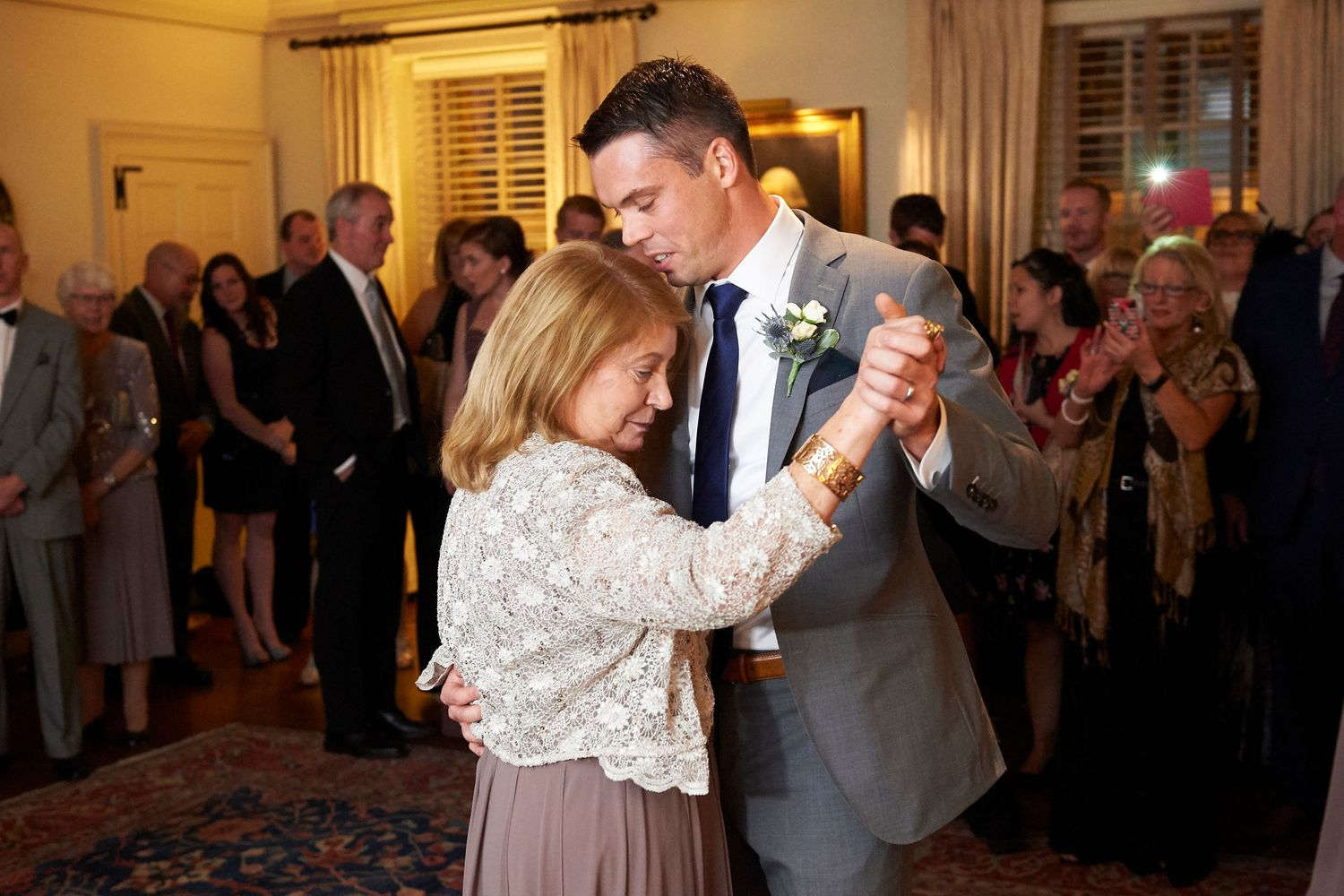mother son dance at Colonial Dames in Philadelphia