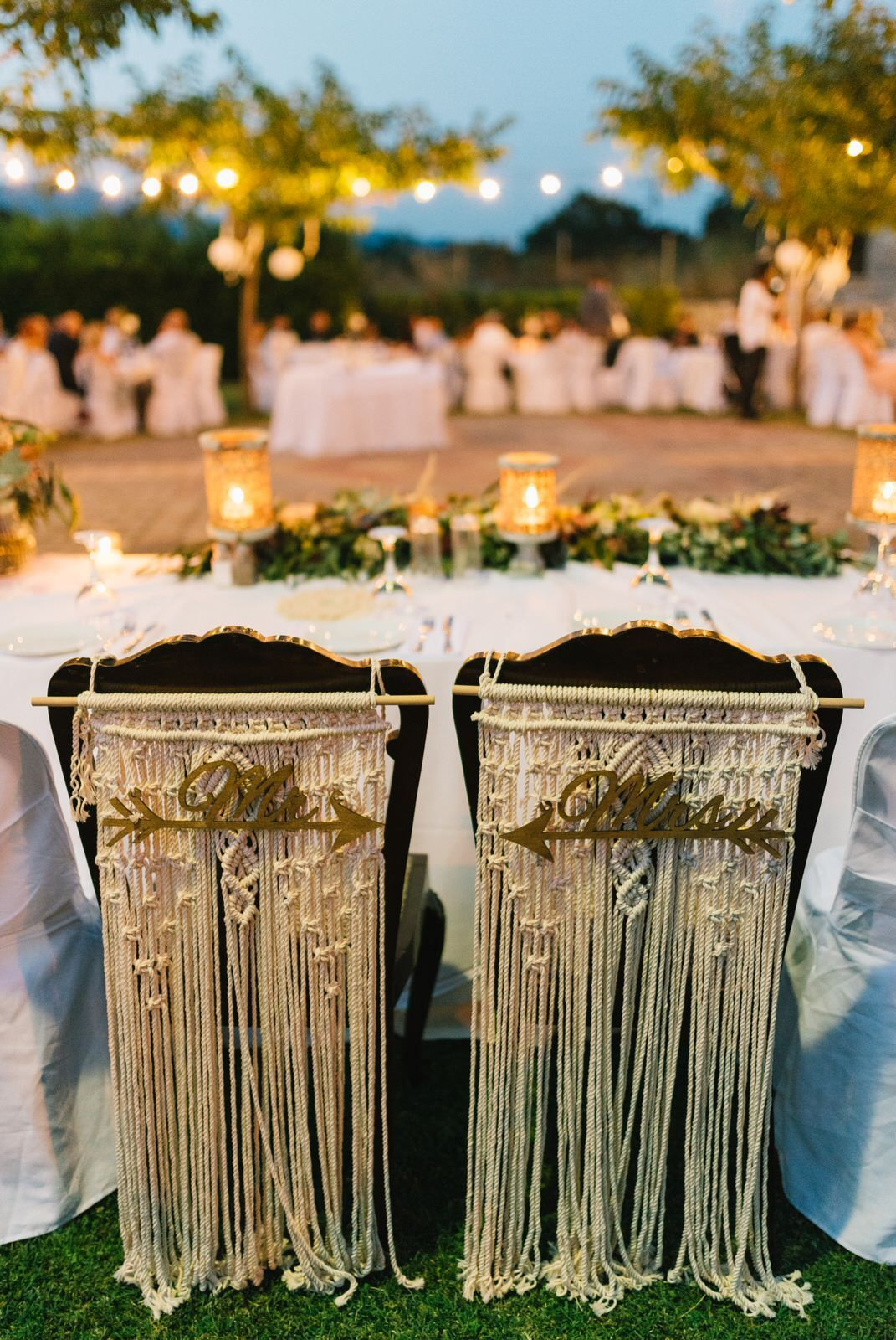 wedding decoration chairs in velventos at kamkoutis winery