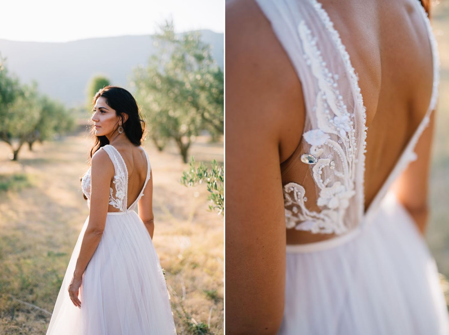 bride portraits and details in velventos kozani