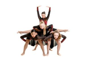 Group of dancers pose