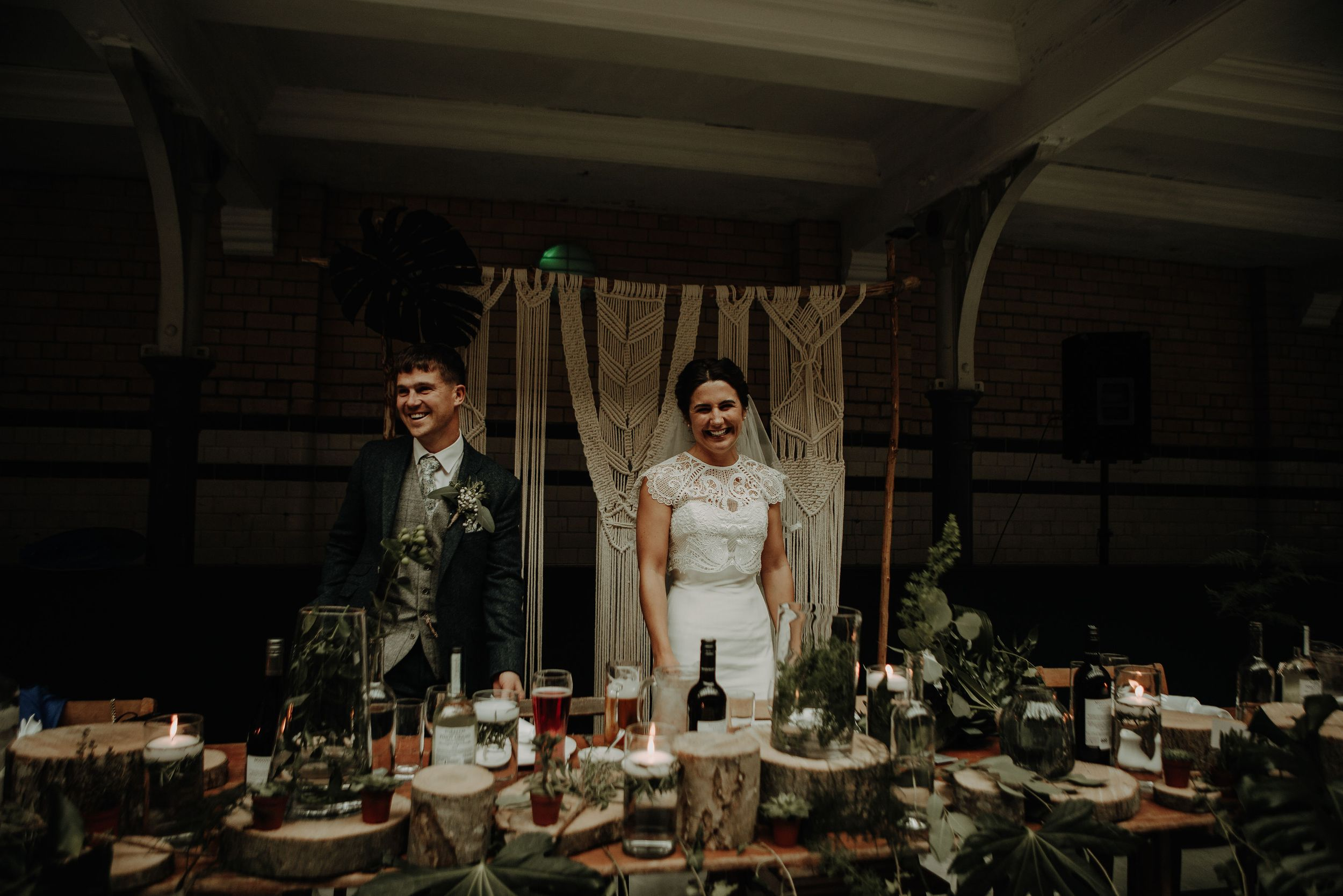 Wedding at Victoria Baths. Manchester Wedding photography by Esme Whiteside Photography