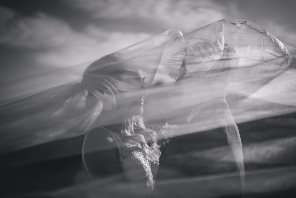 JPRShah Photography | Windy Veil | Newton Hall Wedding