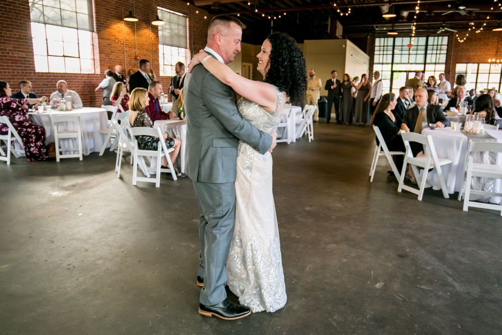 Bride and groom's first dance at Senate's End in Columbia, SC