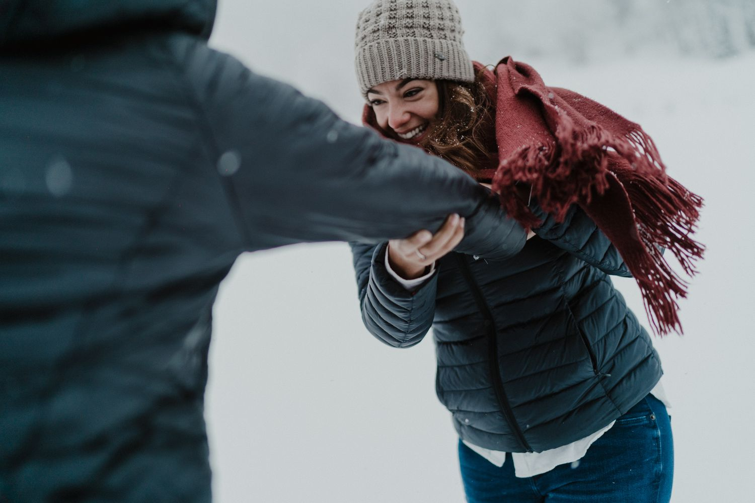 Champéry Engagement Photography