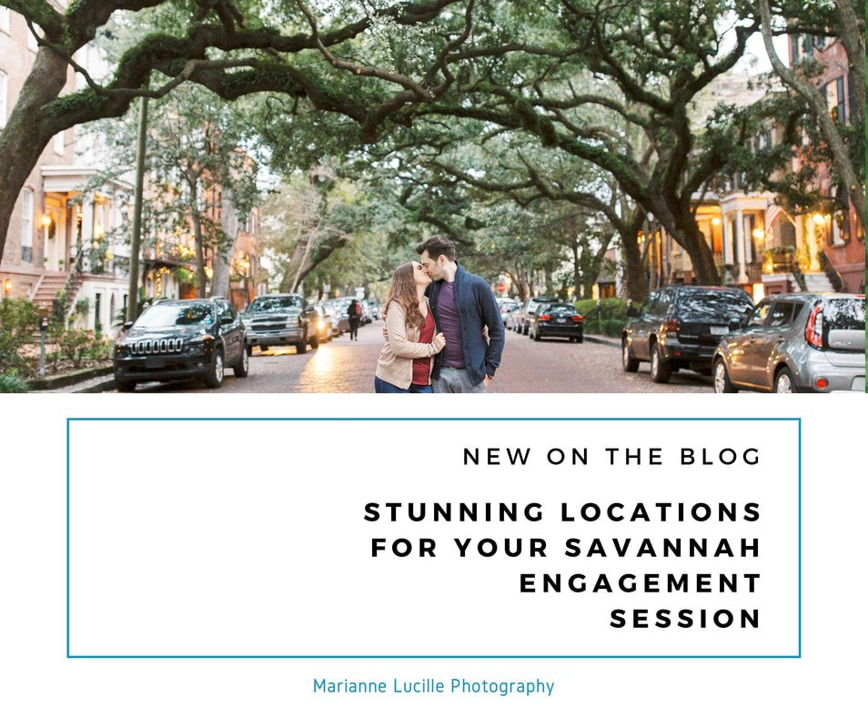 stunning locations for your savannah engagement session