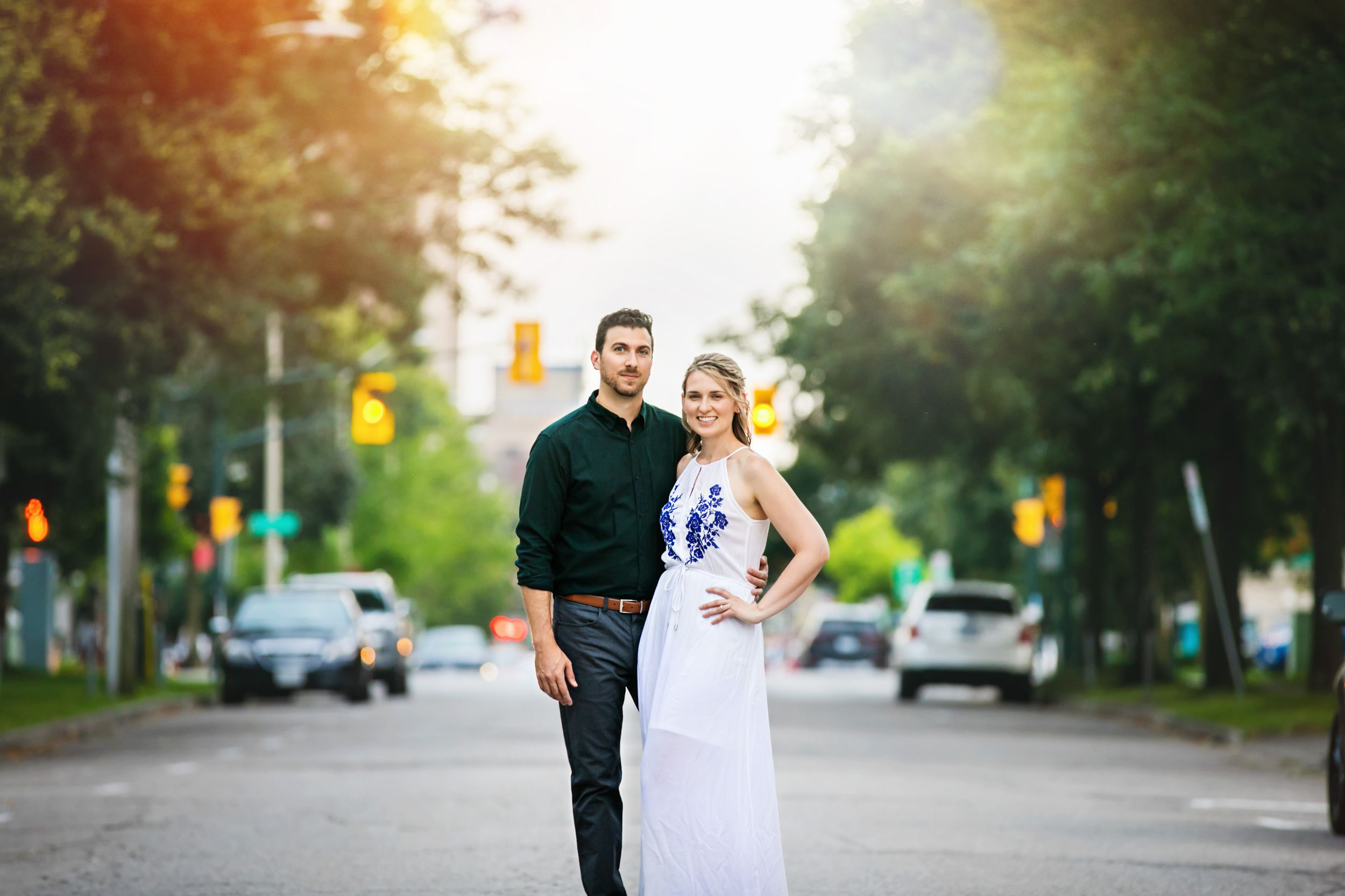 Downtown London Ontario Victoria Park Engagement Photos by Shawn VanDaele