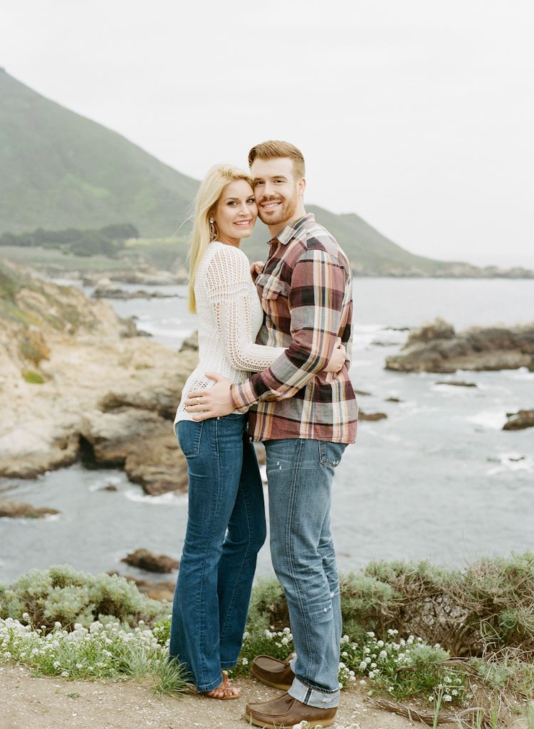 Carmel California wedding engagement photographer Aaron Snow Photography Point Lobos engagements couple