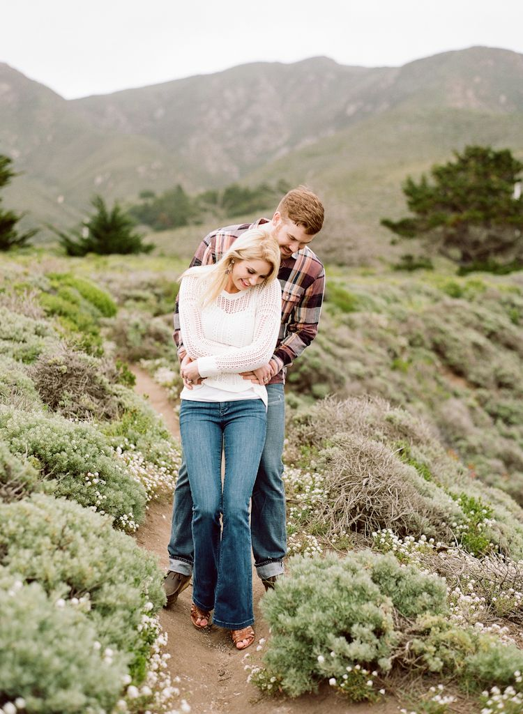 Carmel California wedding engagement photographer Aaron Snow Photography Point Lobos engagements couple Morgan Woolard
