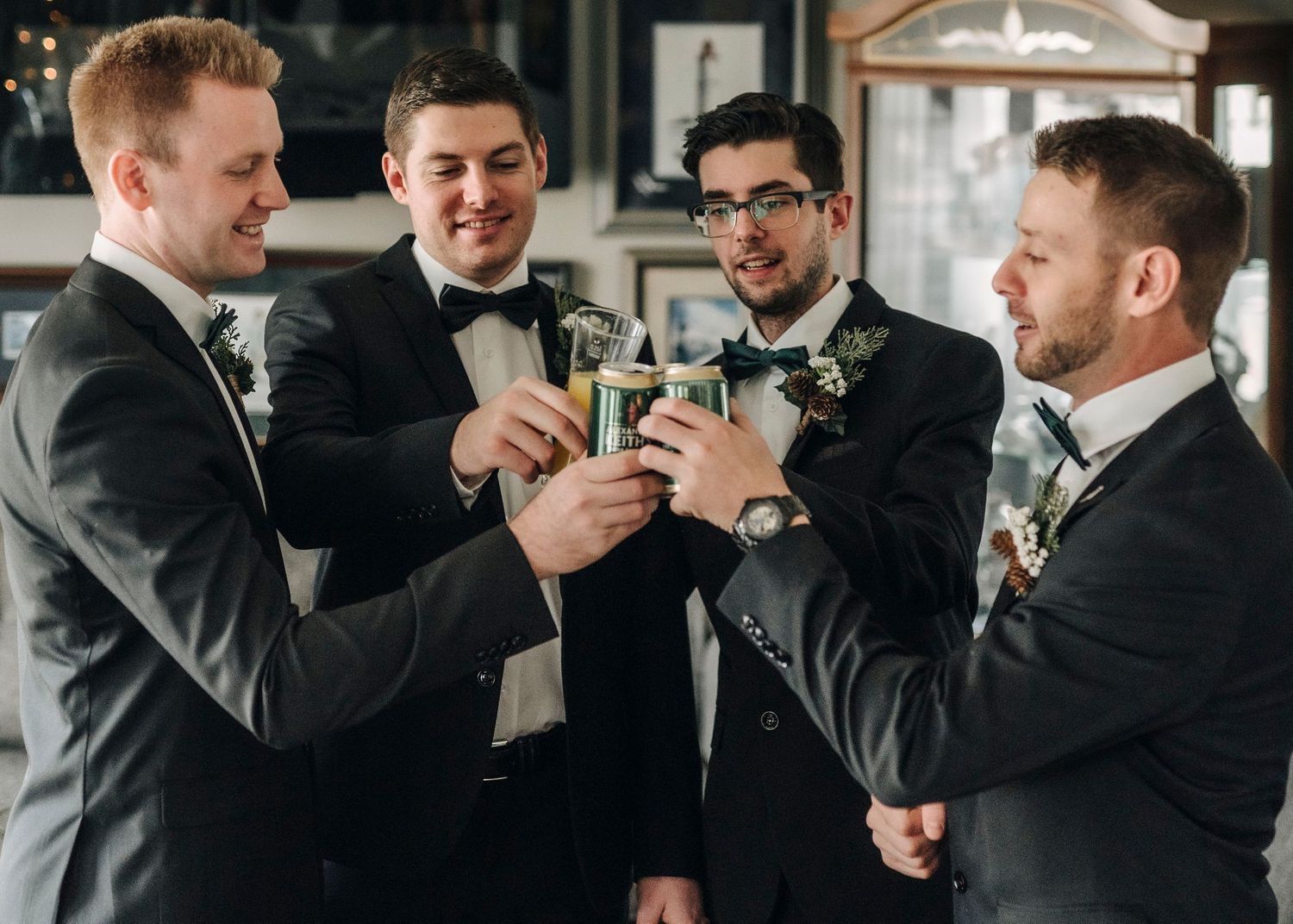 Groomsmen, Windsor Ontario Wedding Photographer Jessica Tanchioni