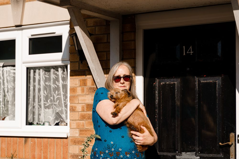 Southampton Doorstep Portraits - capturing life in lockdown during the Coronavirus pandemic.