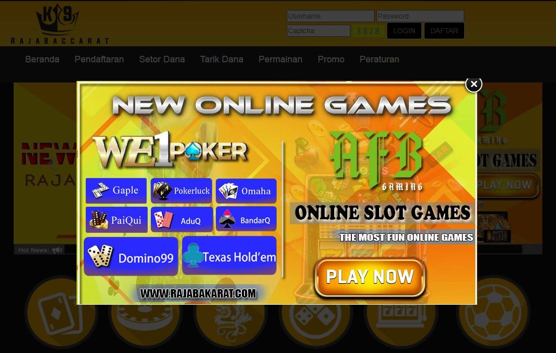 Daftar Situs Online Judi Slot Terpercaya 2021 Rajabacarat