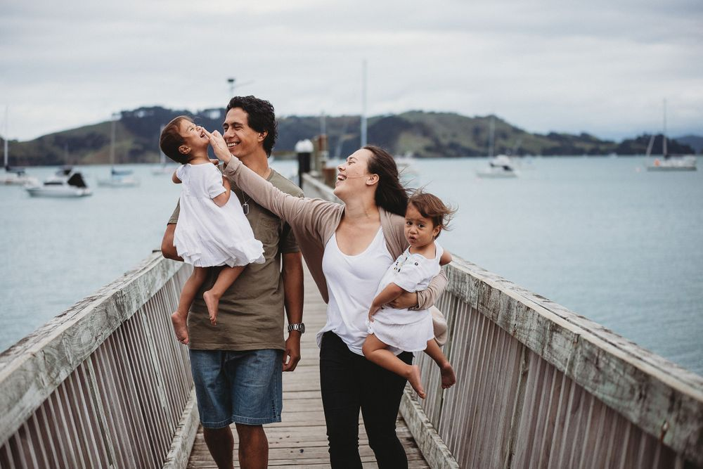 Family Photography Session Hannafords Wharf