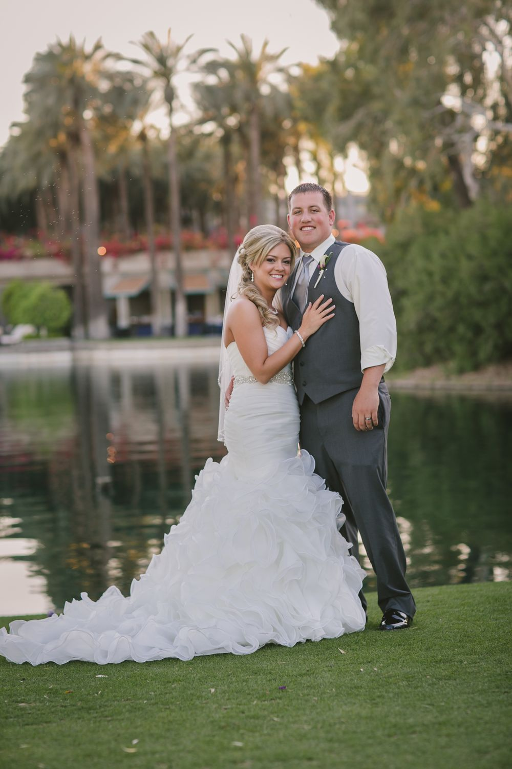 Gainey Ranch Golf Club Scottsdale Arizona destination Bride Groom