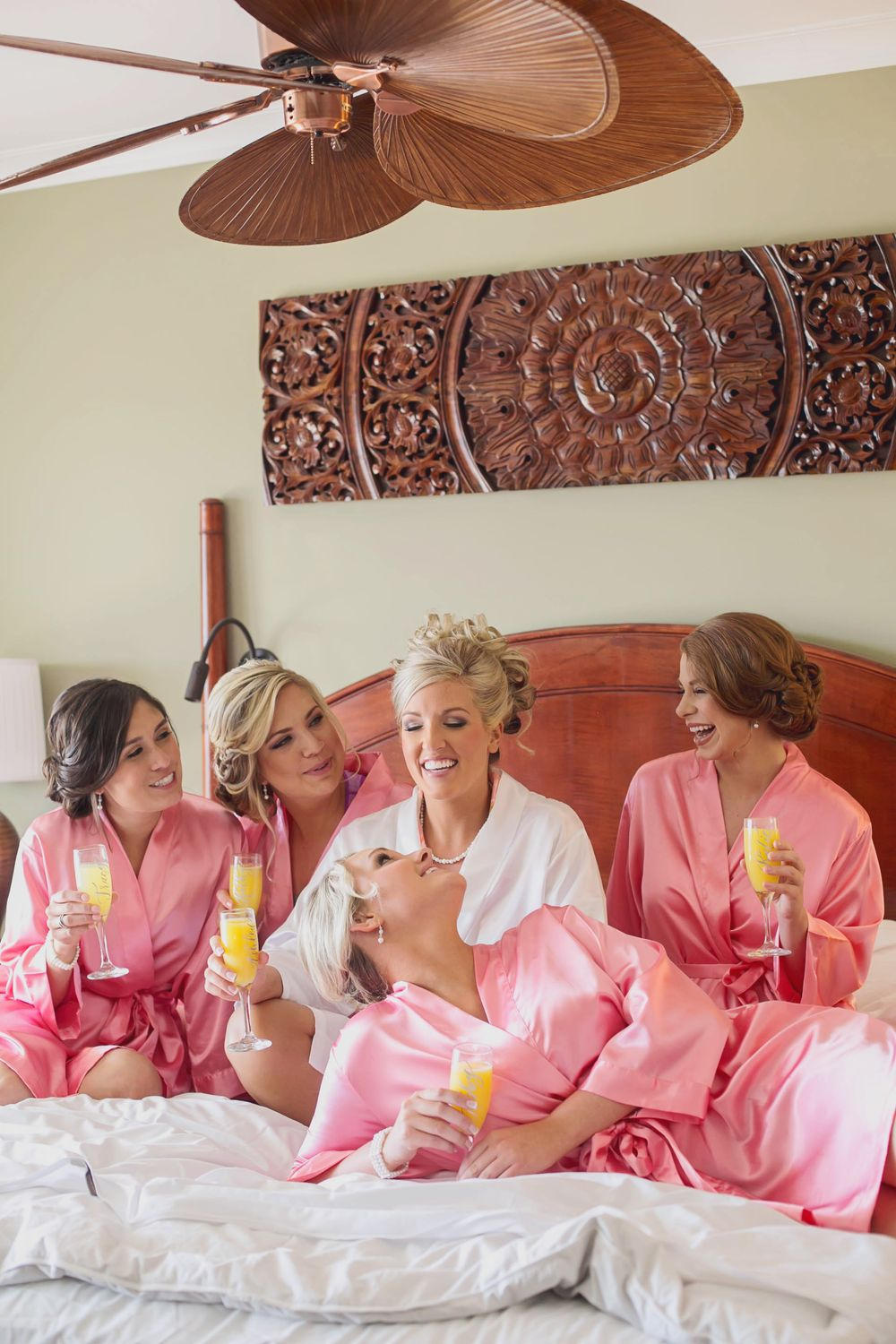 bride bridesmaids Florida Destination beach Marriott Marco Island