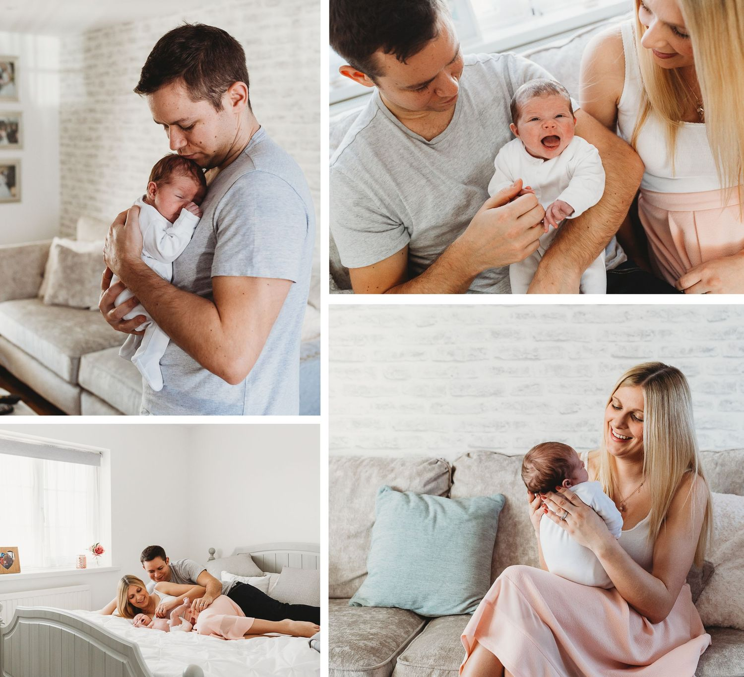 what to wear to newborn photo session baby girl