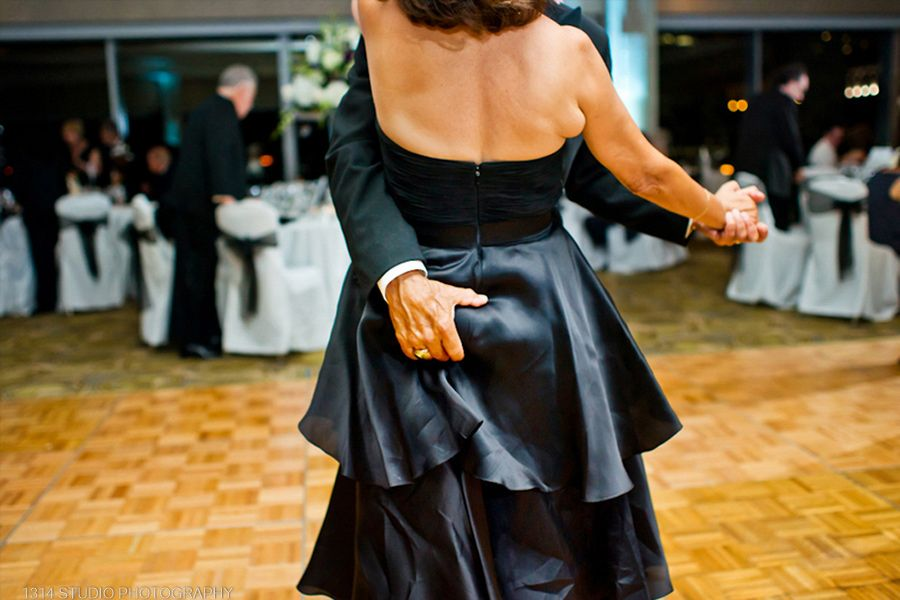 grabbing the butt at first dance