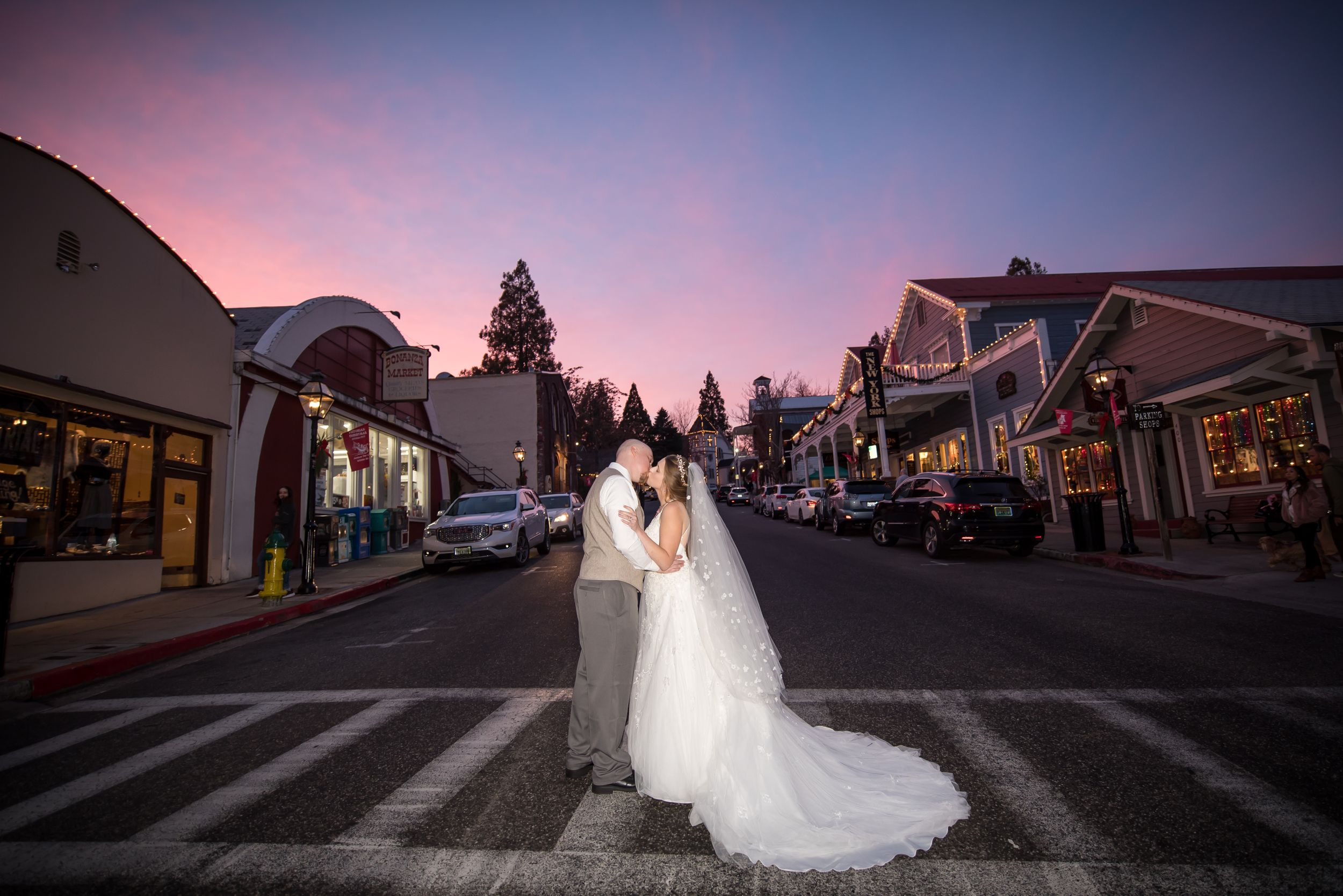 Sacramento photographer - Nevada City wedding
