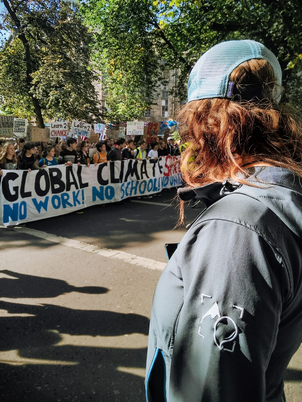 Climate Strike, Edinburgh Climate Strike, Edinburgh Climate March, The Adventure Photographers