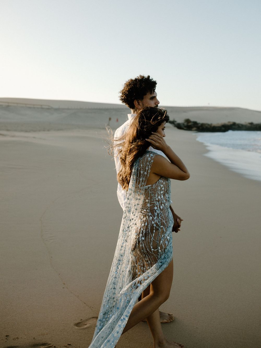 sunset beach california couple session california elopement photographer california wedding photographer