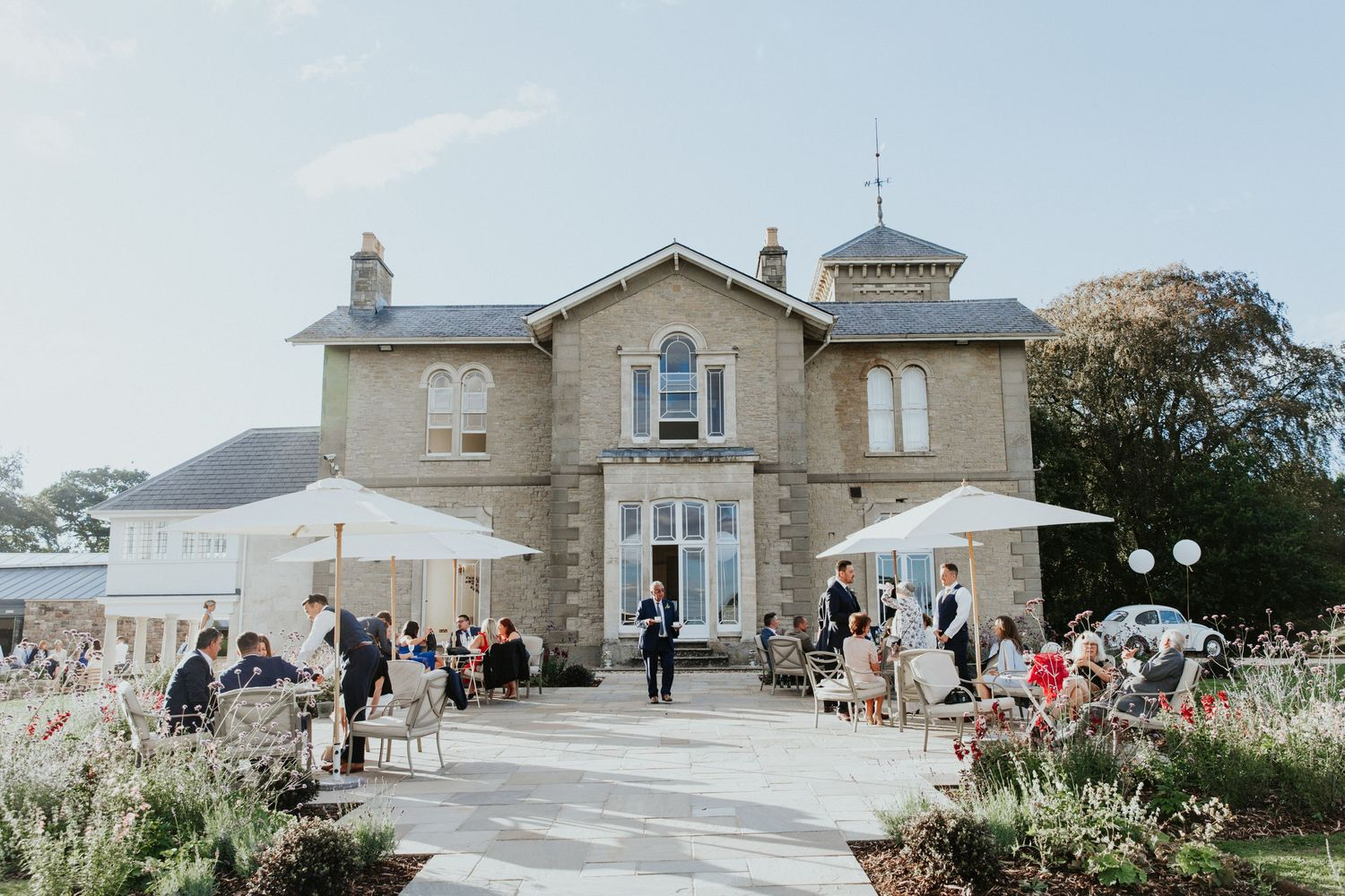 st tewdrics house wedding
