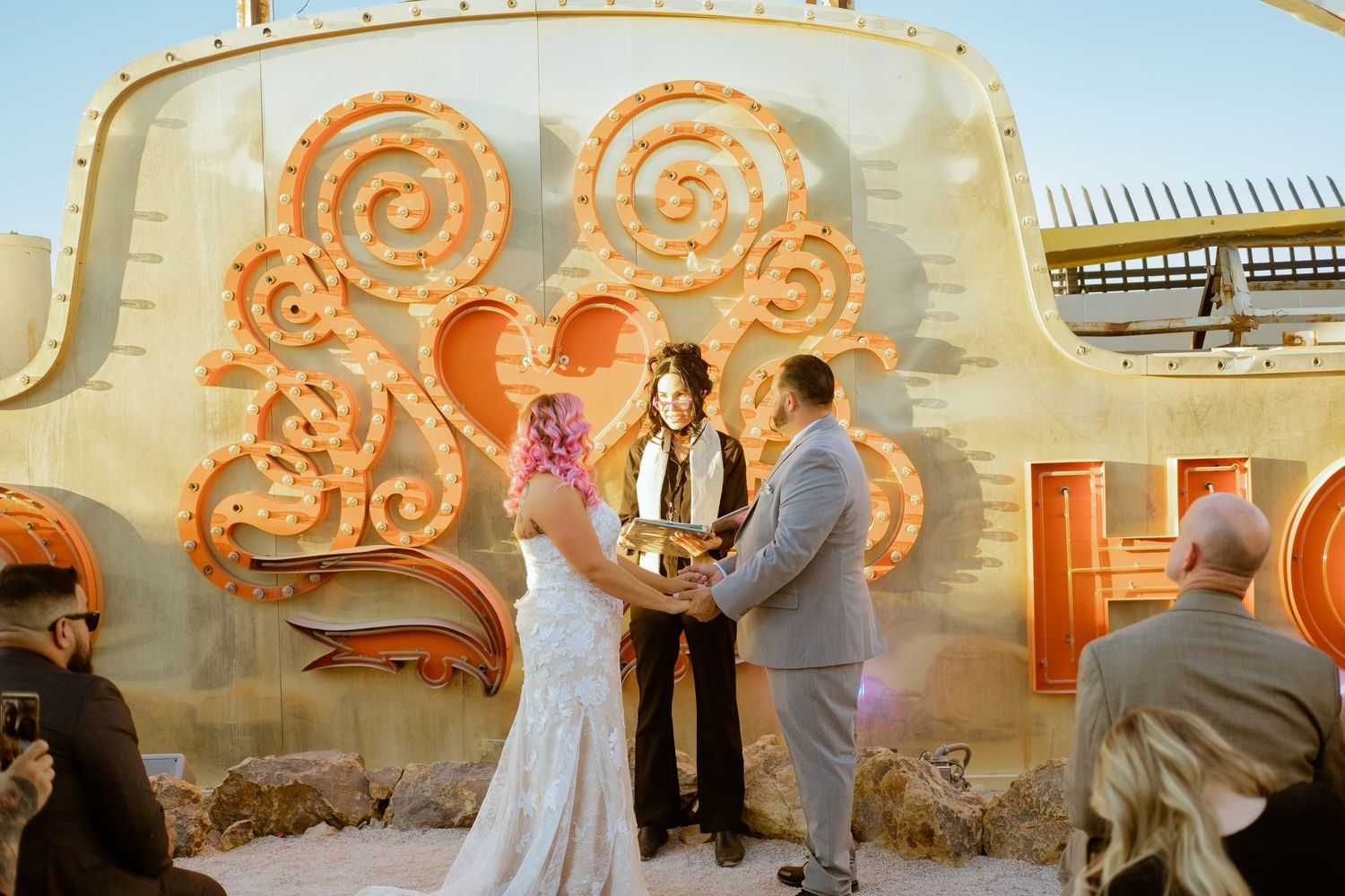 getting married at - Neon Museum