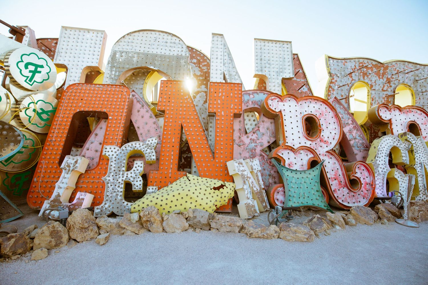 Neon Museum - Detailed shots - retired neon signs