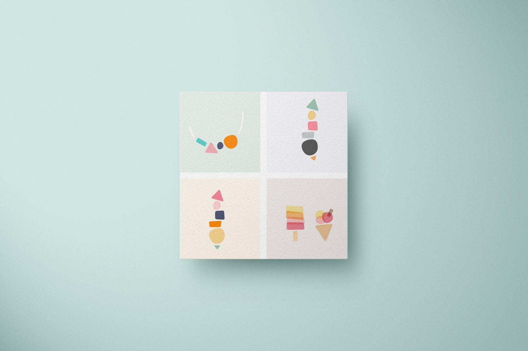 minimalistic illustrations