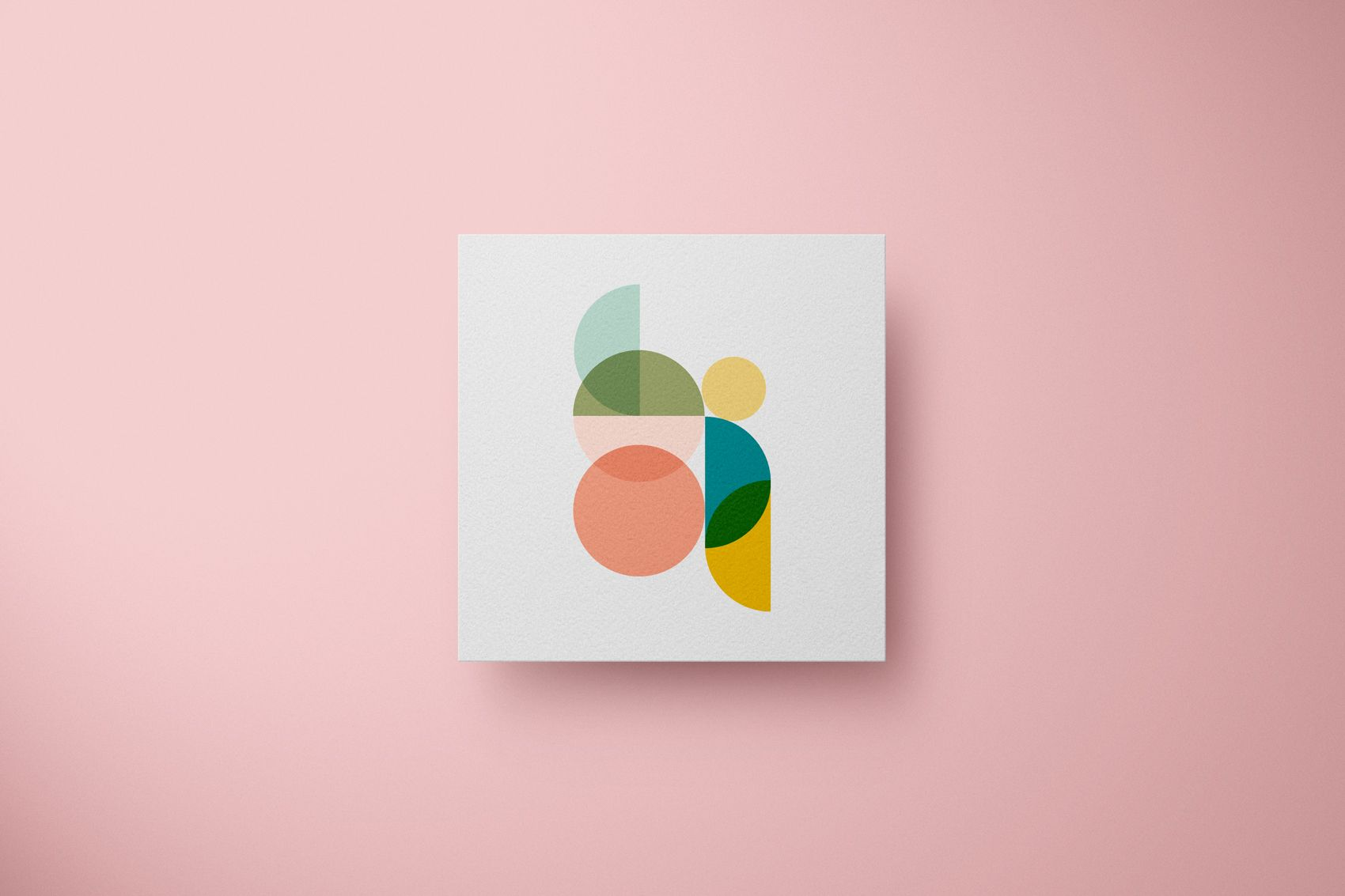 geometric illustration logo