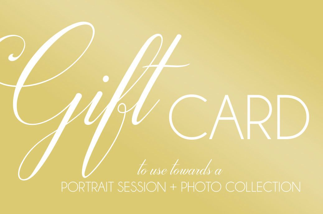 Gift Certificate for Photography