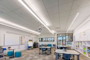 Architectural photographer Lisle Elementary School architecture