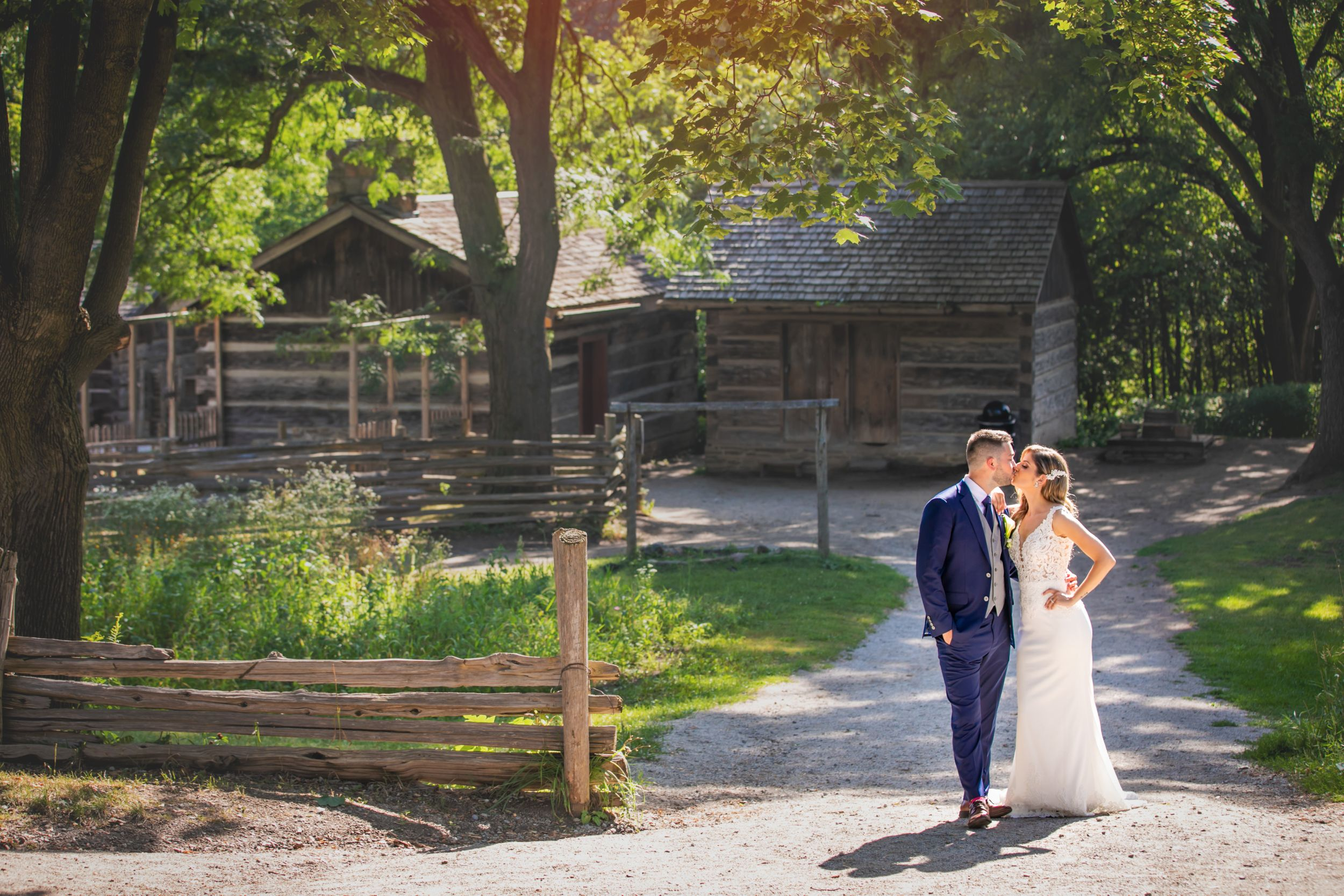 Black Creek Pioneer Village and Paramount Event Space Wedding Photos by Shawn Van Daele