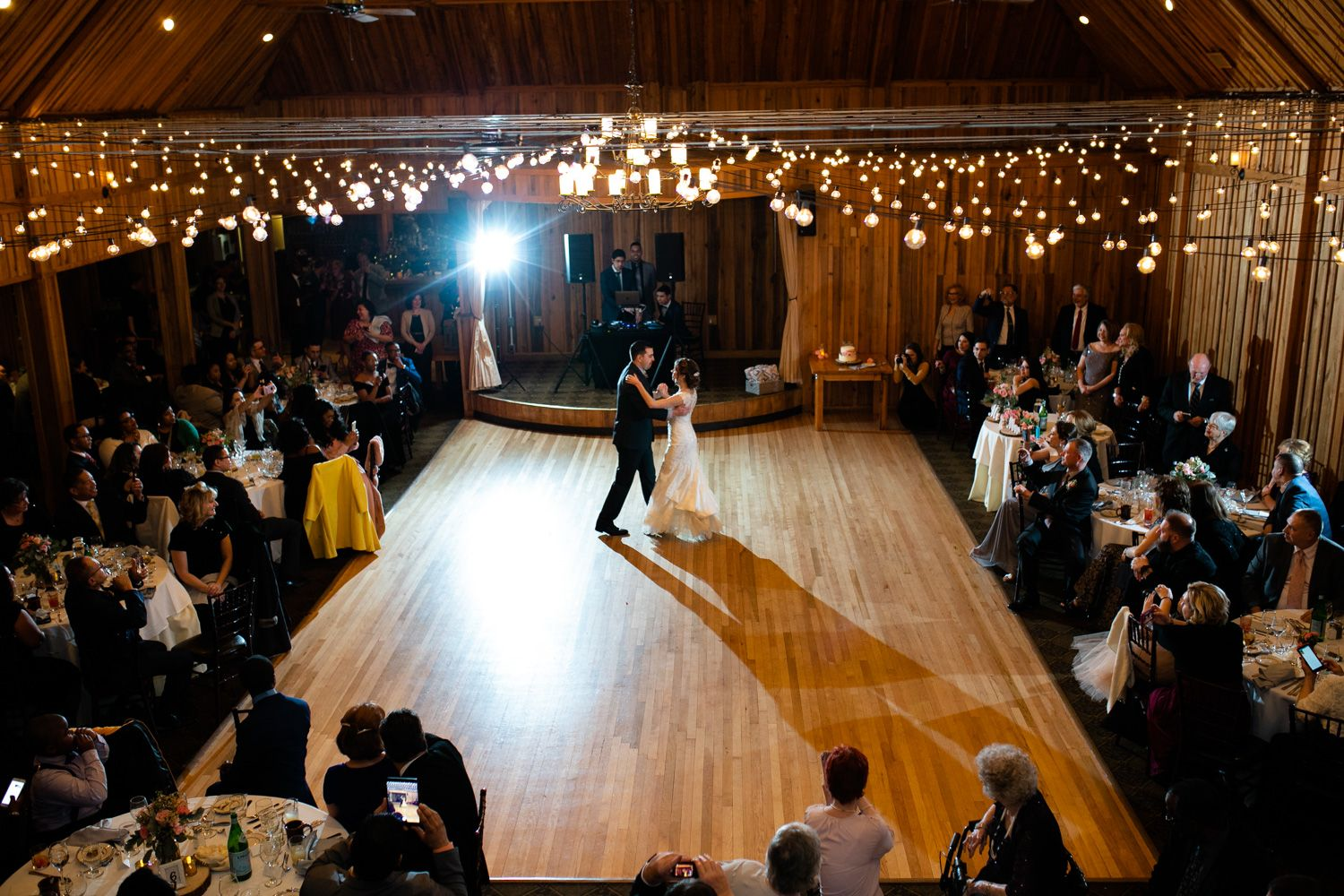 First dance at The Pavilion at Crystal Lake