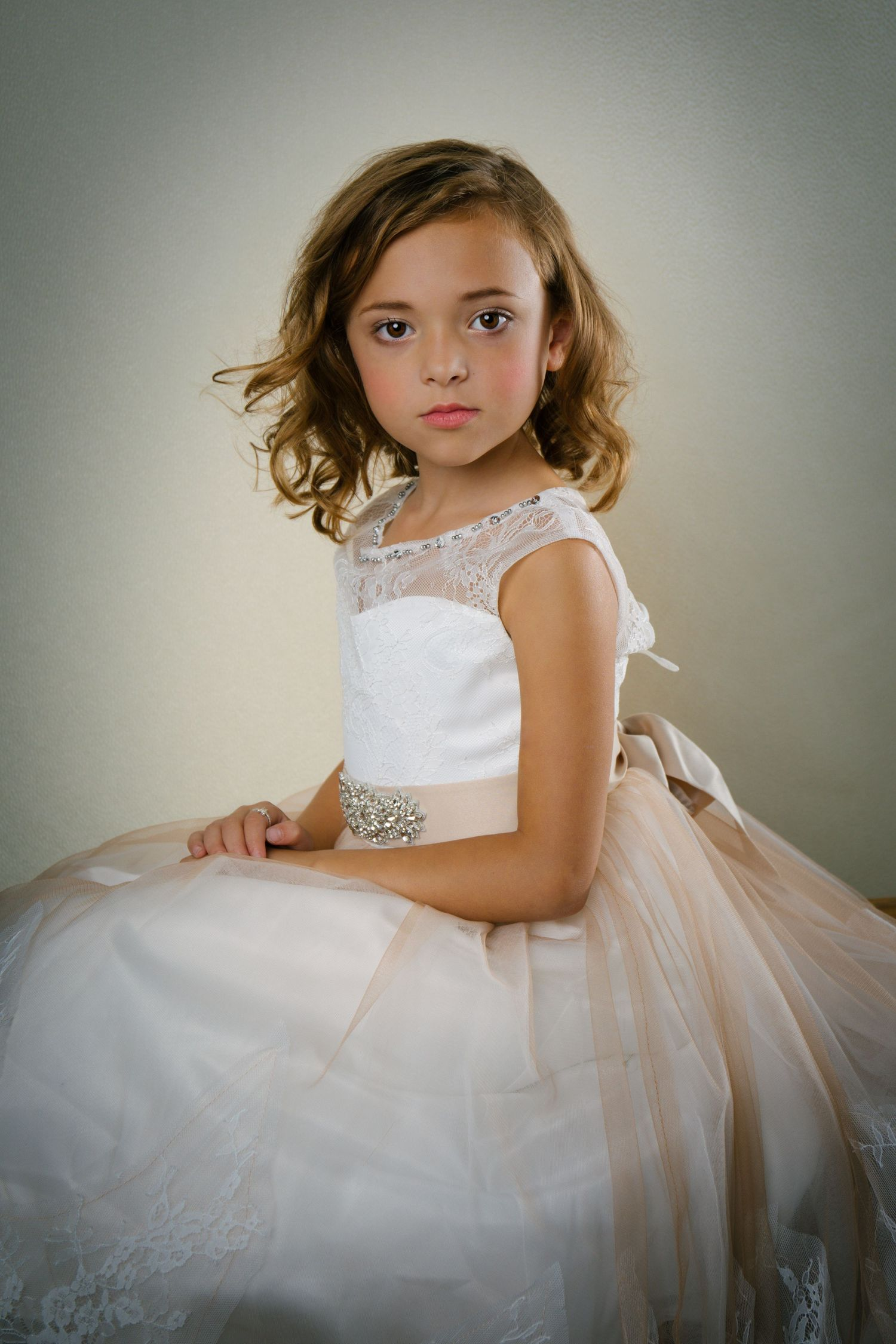 Child Couture, Glamor Portrait, Styled Portrait